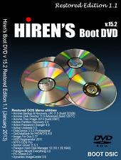 Hiren's Boot DVD 15.2 Restored Edition 1.1 Computer Repair for Windows XP Mini 7