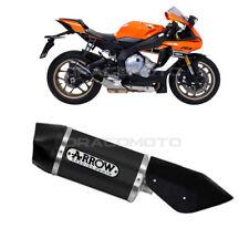 YAMAHA YZF R1 Exhaust ARROW INDY RACE ALU Black CC