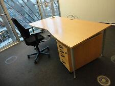 KINNARPS Design Schreibtisch 200 x 100 cm Buche