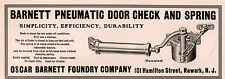 EARLY AD OSCAR BARNETT FOUNDRY CO PNEUMATIC DOOR CHECK SPRING