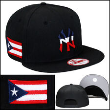 f41a2ee5bc3 New Era new York Yankees Snapback Hat Cap Puerto Rico PR Flag 9fifty mlb wbc