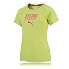 T-shirt, maglie e camicie da donna a manica corta verde con girocollo