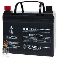 Akku 35Ah 12V AGM USV Batterie AUTO Zusatz Car Hifi Endstufe Verstärker SPV 33Ah