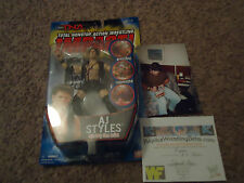TNA SERIES 1 AUTOGRAPHED AJ Styles  IMPACT WRESTLING