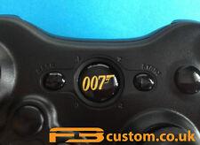 Custom XBOX 360 * James Bond Gold 007 * Guide button