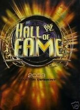 WWE Official Hall of Fame 2009 Programme Brand New WM25