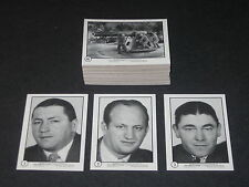THREE 3 STOOGES Blue Puzzle Back (1950's 1960's tv)  © 1989 Complete 60 Card Set