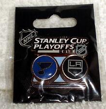 2013 NHL Stanley Cup Playoffs St. Louis Blues LA Los Angeles Kings LA KINGS PIN