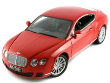 Scale model 1/18 BENTLEY CONTINENTAL GT RED 2008