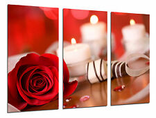 Cuadro Moderno Rosa con Chocolate, Relax, Velas, Amor, ref. 26467