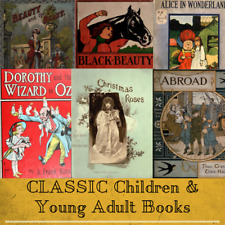 Young Adult & Children's Books Stories - 107 Rare Vintage e-Books on 1 DATA DVD