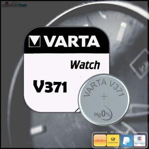 1x VARTA V371 Uhrenbatterie Knopfzelle 371 SR69 SR920SW SR920 AG6 MHD: 08-2022