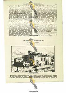 Foundery Moorfields, London (John Wesley), Book Illustration (Print), 1885