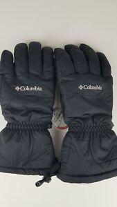 Columbia Men's L Omni-Tech Waterproof Gloves Tumalo Mountain, Black