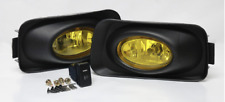New JDM Style Accord CL7 Euro R Yellow Glass Fog Lights 03-06