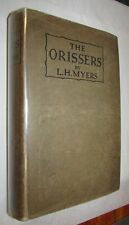 L. H. MYERS The Orissers. First edition. 1 of 250 copies SIGNED by AUTHOR 1922