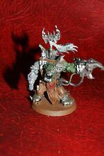 Warhammer 40k Orks Warboss (parte-Pintado de plástico)