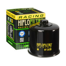 HiFlo Oil Filter Racing HF138RC Black Suzuki Aprilia