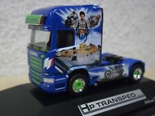 "Herpa - Scania R TL Solo-ZM ""HP Transped / Valentino Rossi"" PC-Mod. 110877 -1:87"