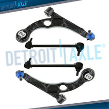 Front Lower Control Arms + Sway Bars End Link for 2013 2014 2015 2016 Dodge Dart