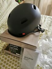 Giro Sutton urban Cycle Helmet size medium black..boxed