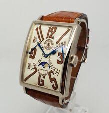 Roger Dubuis Much More Bi-Retrograde Calendar 18K White Gold Mens 47X34mm Watch