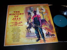 "Various ‎""The History Of Jazz Vol. 1  N'Orleans Origins"" LP Capitol Records ‎Usa"