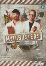 D.V.D MOVIE  DB520   MYTHBUSTERS :  SEASON 1 / 4 DISC SET    DVD