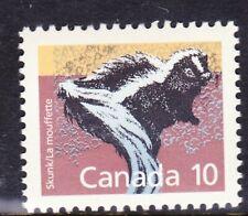 Canada No 1160, Mammal Definitive: Skunk, Mint Nh