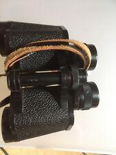 Carl Zeiss Jena Jenoptem 8 X 30W Binoculars In Brown Leather Case