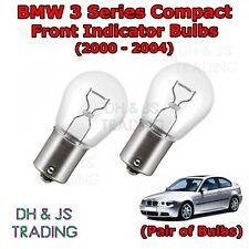 (00-04) BMW 3 Series Compact E46 Front Indicator Light Bulbs / Bulb 382 12v 21w