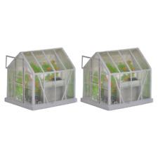 Bachmann 44-515 OO Gauge Greenhouse (Pack 2)