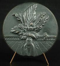 Médaille Abraham Bosse graveur du Roy érotisme Mandragore Mandragora Mat medal