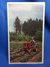 "1937-1957 Vintage ALLIS CHALMERS Model ""B"" TRACTOR Farm Advertising Postcard"