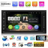 7in 2Din Android 8.1 GPS Navigation Quad Core Car Stereo MP5 Player for Toyota