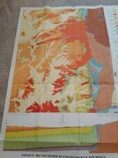 New ListingUsgs Geologic Map Cuba Quad/Sandoval & Arriba Counties/New Mexico Bur. of Mines