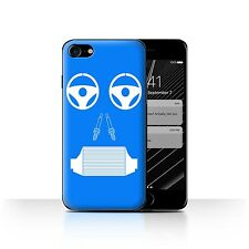 STUFF4 Back Case/Cover/Skin for Apple iPhone 7/Car Part Faces