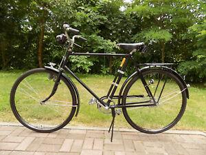 Adler 28er Herren Fahrrad, Oldtimer, sehr guter Zustand, schwarz, altes Fahrrad