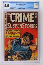 Crime Suspenstories #16 - E.C. 1953 CGC 5.0 Johnny Craig cover and art!