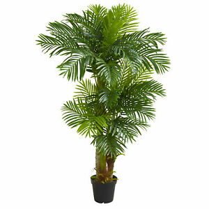 Nearly Natural 6' Hawaii Artificial Palm Silk Tree Home Decoration Realistic