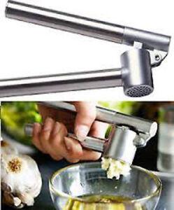 KONICS New Heavy Duty Stainless Steel Garlic Squeezer Press Crusher BY IKEA