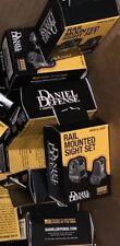NEW IN BOX OEM DANIEL DEFENSE RAIL MOUNTED DD SIGHT SET FRONT/REAR RIFLE