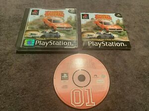 THE DUKES OF HAZZARD PS1/PS2/PS3 GAME - MINT CONDITION COMPLETE
