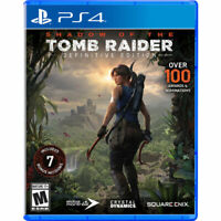 SHADOW OF THE TOMB RAIDER DEFINITIVE EDITION PS4 PLAYSTATION 4 BRAND NEW SEALED