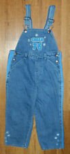 Infants Girls Ready Action Brand Denim Overalls size 4T / 24x15