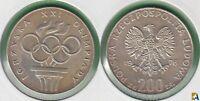 POLONIA - POLSKA. 200 ZLOTYCH DE 1976. PLATA 0.625.