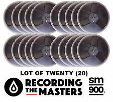 "Lot Of(20) Sm900 Rtm Pyral Rmg Rmgi Tape Reel To Reel 1/4"" X 1200 7"" Plastic New"