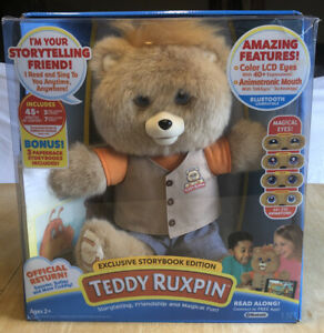 TEDDY RUXPIN EXCLUSIVE STORYBOOK EDITION WITH BONUS CONTENTS 3 STORIES 7 SONGS