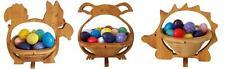 Lot de 3 Corbeille à oeufs osterkörbe Osternest Panier Pâques décoration pour