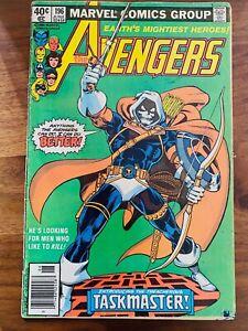 Avengers #196 Marvel Comics Newsstand Low Grade 1st app Taskmaster Black Widow